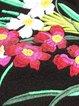 Long Sleeve Wool Blend Embroidered Floral Elegant Coat