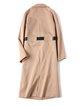 Long Sleeve H-line Slit Casual Coat