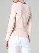 Apricot Solid Elegant Sweater