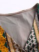 Wrap Bell Sleeve Printed Rayon Midi Dress