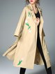 H-line Casual Long Sleeve Trench Coat