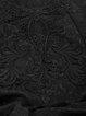 Black  Mermaid Evening Floral-print Maxi Skirt