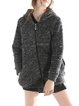Long Sleeve Hoodie Casual Geometric Knitted Coat