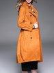 Yellow Buttoned Elegant Coat