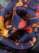 Shift Batwing V Neck Chiffon Casual Linen Dress