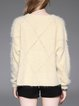 Crew Neck Casual Long Sleeve Knitted Sweater