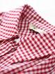 Long Sleeve A-line Cotton Casual Shirt Collar Midi Dress With Belt