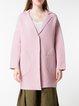 Casual Lapel Wool Blend Long Sleeve Cardigan