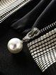 Long Sleeve Zipper Stripes Cotton Casual Coat