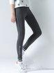 Sheath Polyester Casual Leggings