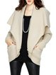 Plain Batwing Casual Cardigan