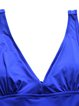 Blue Straped Padded One-Pieces