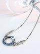 Zircon Copper Round Bracelet