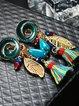 Multicolor Alloy Earrings