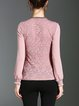 Long Sleeve Stand Collar Tops