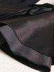 Black Solid Bell Sleeve Long Sleeved Top