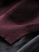 High Low Long Sleeve Linen Top
