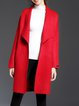 H-line Long Sleeve Wool Blend Elegant Cardigan