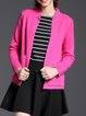 Knitted Elegant Stand Collar Cardigan