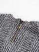 Gray Short Sleeve Pockets Mini Dress