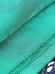 3/4 Sleeve V Neck Elegant Sheath Crocheted Midi Dress