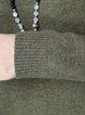 Long Sleeve Solid Wool Sweater