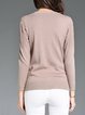 Casual Mohair Crew Neck Sweater