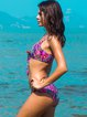 Rose Wireless Padded Printed Bikini