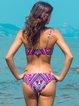 Rose Wireless Padded Printed Bikini