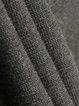 Black Turtleneck Knitted Statement Geometric Sweater