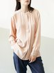 Apricot Work H-line Blouse