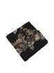 Black Silk Casual Scarf