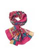 Casual Abstract Silk Scarf