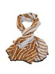 Casual Silk Stripes Scarf