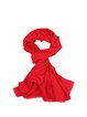 Red Casual Plain Scarf