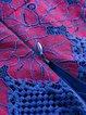 Rose A-line Floral Elegant Pierced Midi Dress