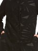 Wool Long Sleeve Pockets Simple Turtleneck Coat
