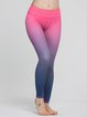 Pink Stretchy Quick Dry Polyester Bottom Pants (Sportswear for Yoga)