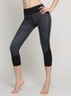 Stretchy Polyester Breathable Bottom Pants (Sportswear for Yoga)