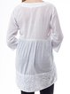 White Resort Embroidered Tunic