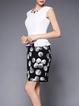 Floral Sleeveless Work Printed Mini Dress