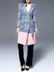 Lapel Long Sleeve Elegant Wool Blend Coat