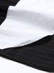 White Frill Sleeve H-line Midi Dress