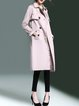 Long Sleeve Elegant H-line Trench Coat