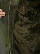 Casual Cotton-blend Buttoned A-line Parka