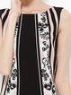 Casual Sleeveless Sheath Printed Floral Midi Dress