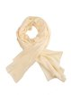 Apricot Solid Silk-blend Casual Scarf