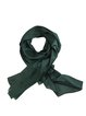 Solid Casual Silk-blend Scarf