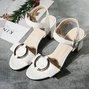 Dress Buckle Open Toe Chunky Sandals