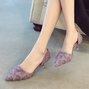 Date Stiletto Heel Summer Pointed Toe Heels